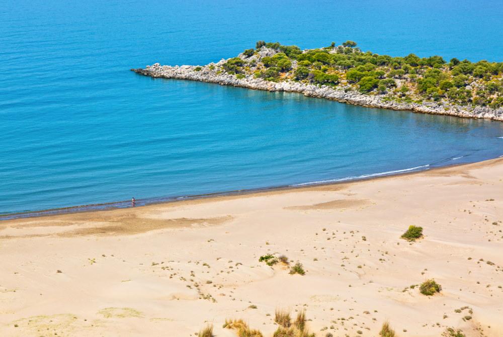 Cayagzi Beach in Antalya in Turkey