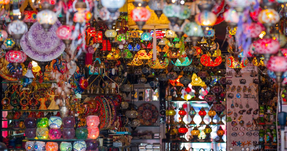 The Grand Bazaar of Side in Antalya