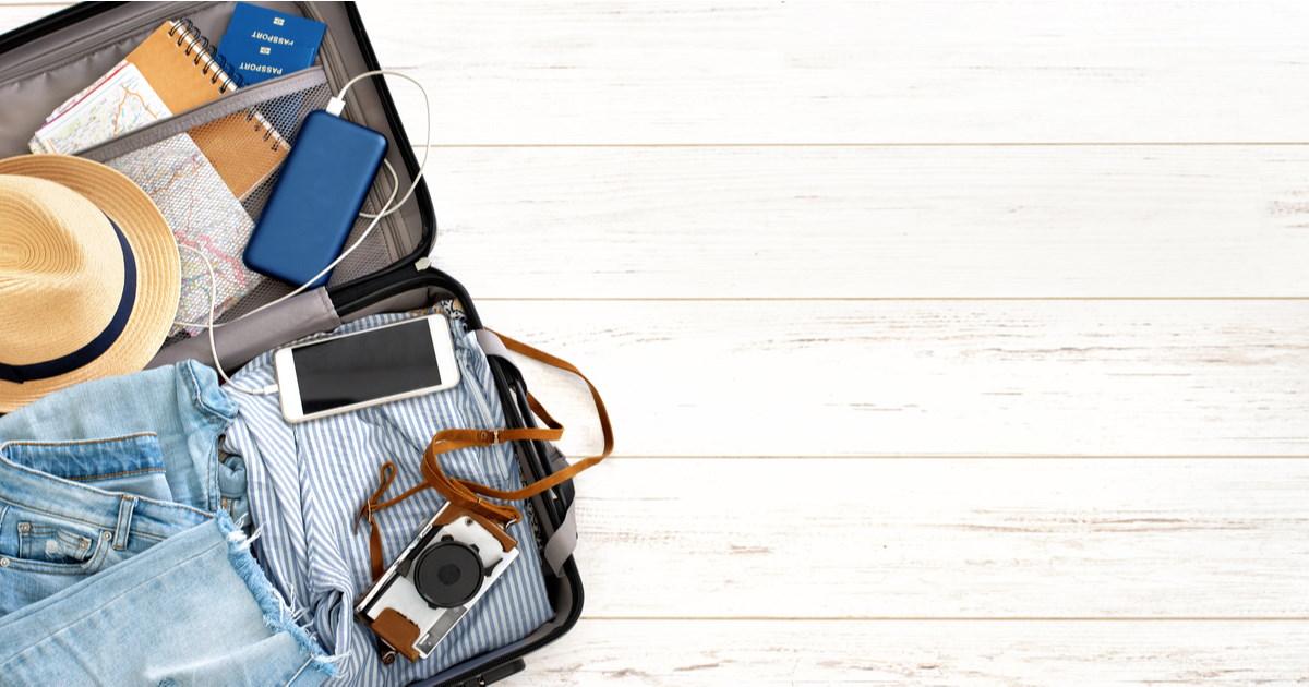 suitcase - sockets in Turkey